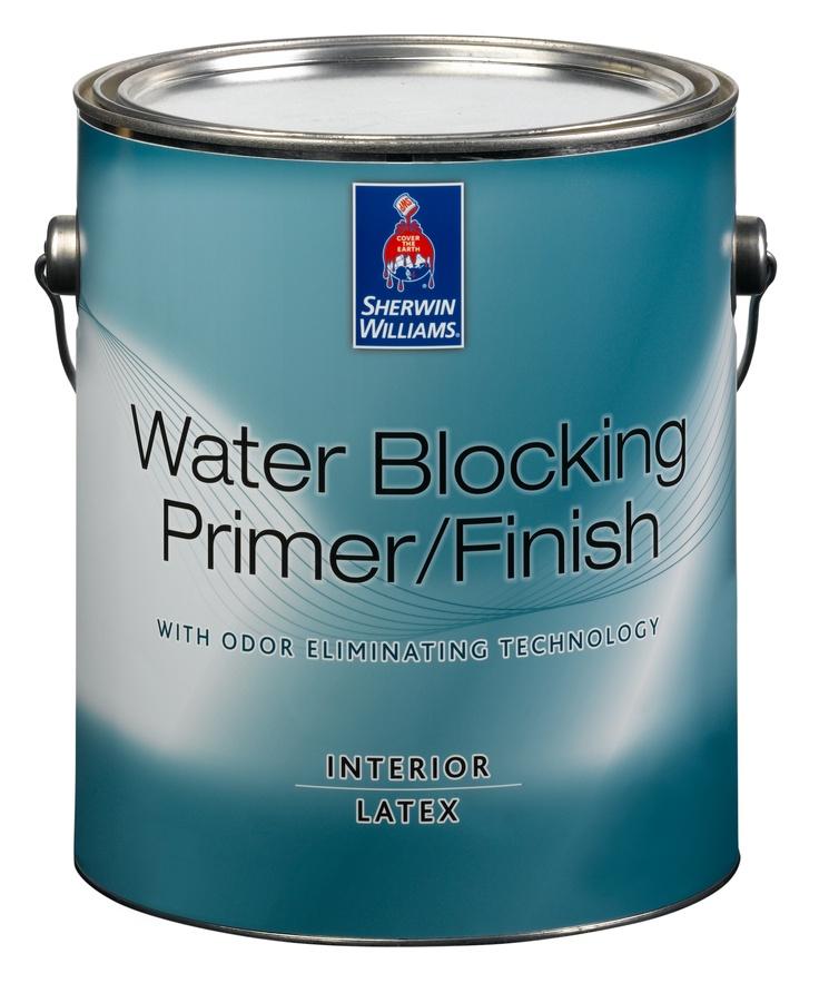 Sherwin Williams Water Blocking Primer Finish Description A Zero Voc Primer Designed To Seal
