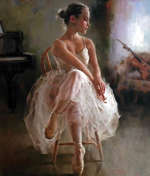 beautiful ballerina | Stephen Pan Paintings ...