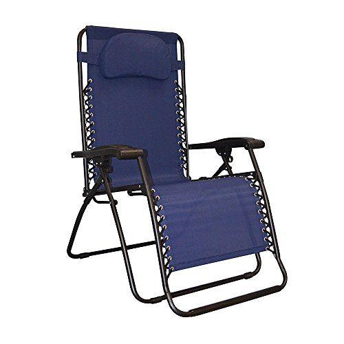 Premium Patio Chairs Zero Gravity Chair Caravan Canopy Lounge