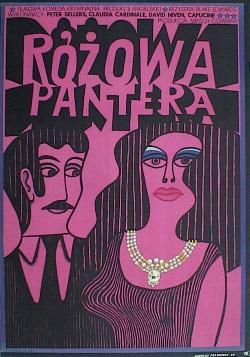 Designer: Krajewski. Title: Rozowa Pantera [ The Pink Panter]. 1969   £250