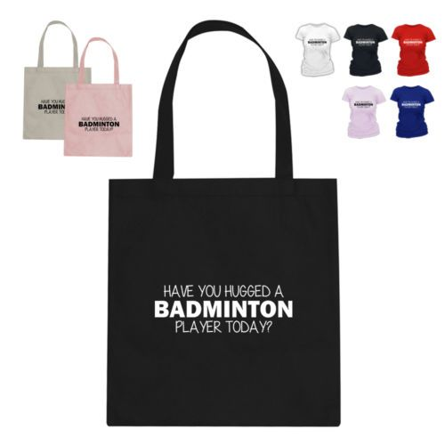 #Badminton olympics gift #cotton tote bag have you #hugged,  View more on the LINK: http://www.zeppy.io/product/gb/2/361570605119/