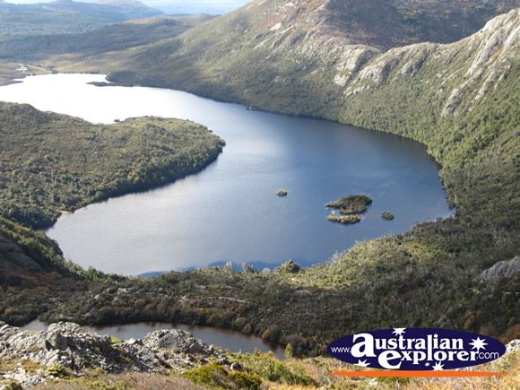 Dove Lake, what a beautiful view you get of this lake when walking in Cradle Mountain, Tasmania, Australia.