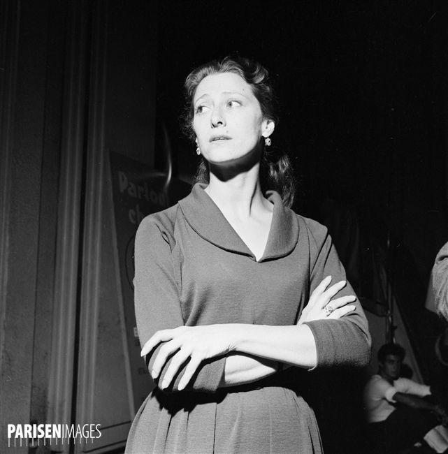 Maya Plisetskaya (1925-2015), Russian ballet dancer and choreographer. Paris, September 1961.