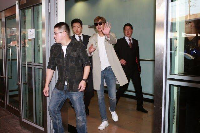 Arrival, Hong Kong International Airport - 21.03.2015