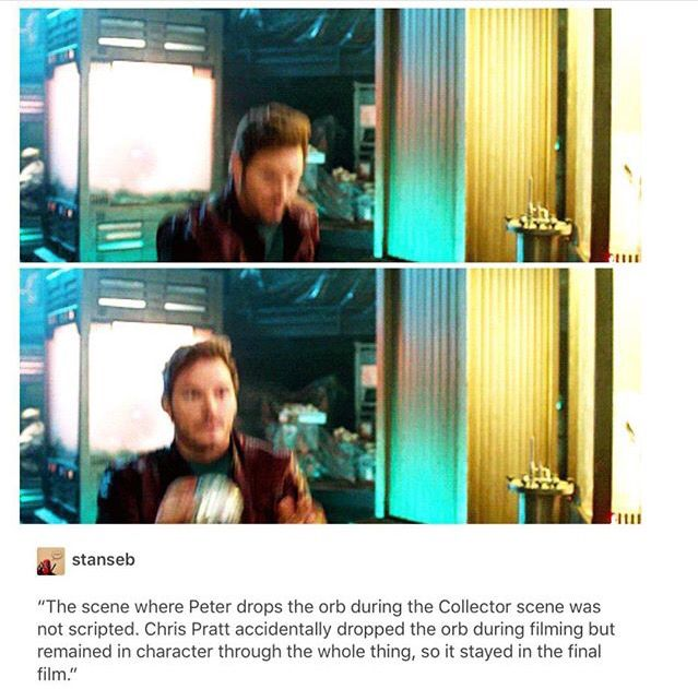 I knew it!! There is no way that sort of blunder could have been on purpose. But its still so perfectly Quill. I'm glad they kept it.