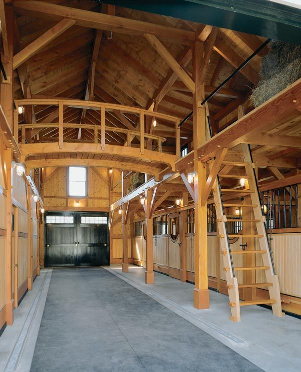 17 best images about barns on pinterest indoor arena for Small barn with loft