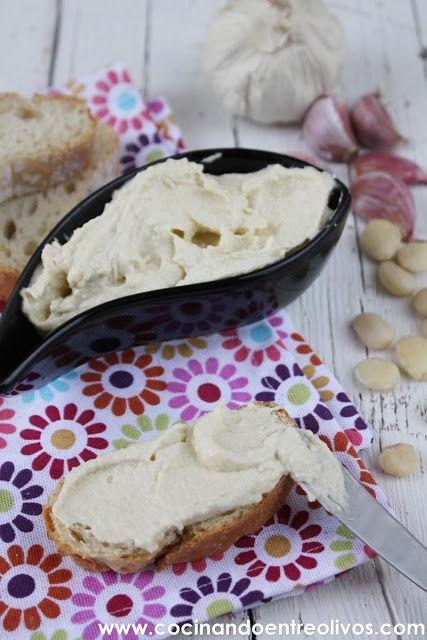 Ajoblanco de almeria. Garlic paste from ALMERIA, ANDALUCIA, Spain.. Recipe !