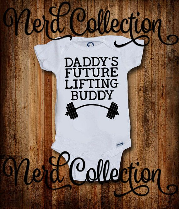Hey, I found this really awesome Etsy listing at https://www.etsy.com/listing/252337367/baby-onesie-daddys-future-lifting-buddy