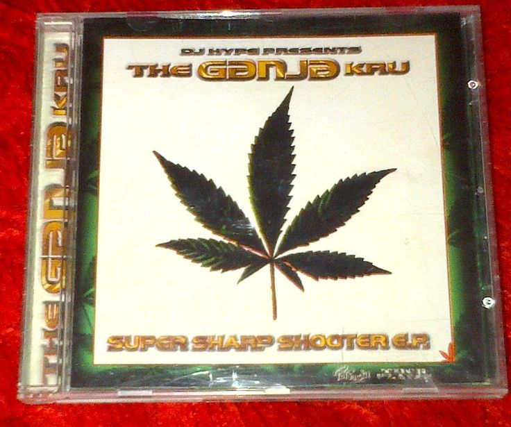 DJ Hype Ganja Kru - Super Sharp Shooter EP (1996) #ebay #rozasebay