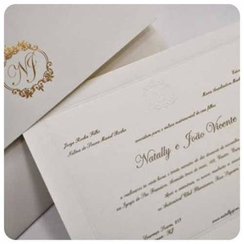 Convites de Casamento Clássicos  http://zankyou.terra.com.br/p/convites-de-casamento-classicos-dicas-para-as-noivas-de-sao-paulo-64411
