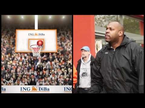 Körbewerfen wie Dirk Nowitzki präsentiert von der ING-DiBa