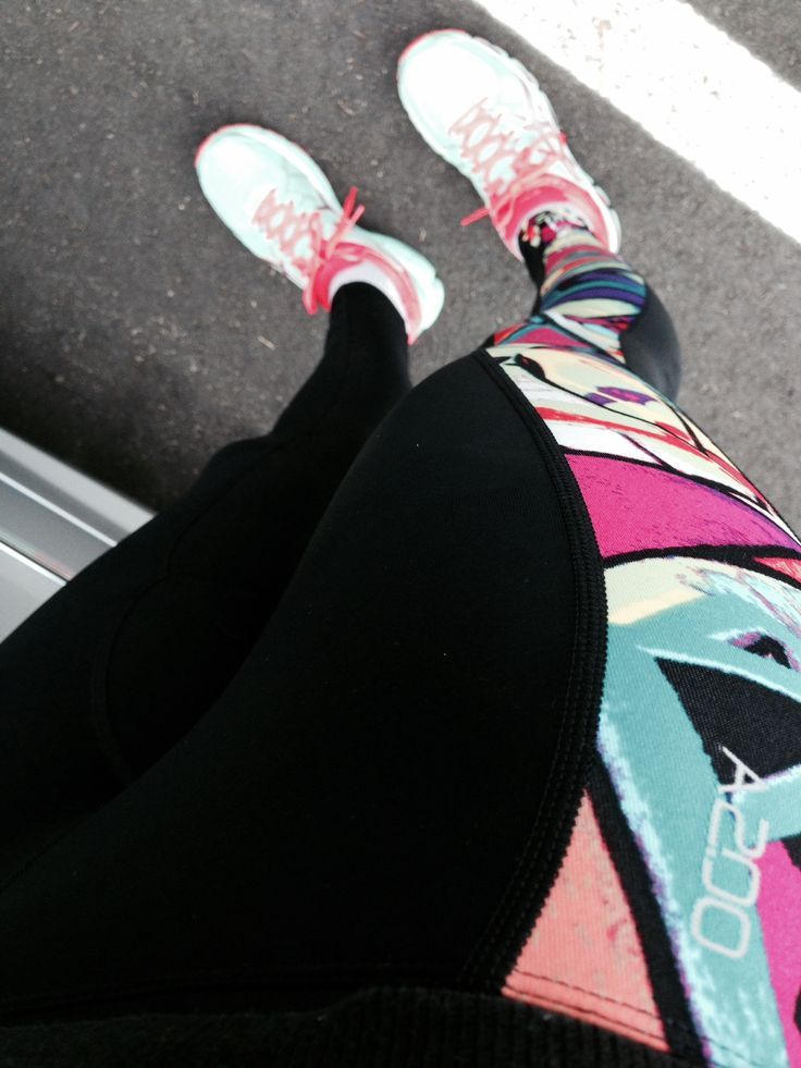 Loving my new tights - A200 Abyss!