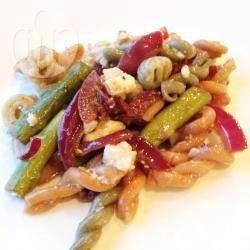 Mediterrane pastasalade @ allrecipes.nl