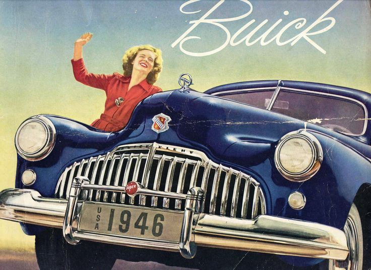 Hello Ladies! Classic Car Brochure Art For Happy Women | The Daily
