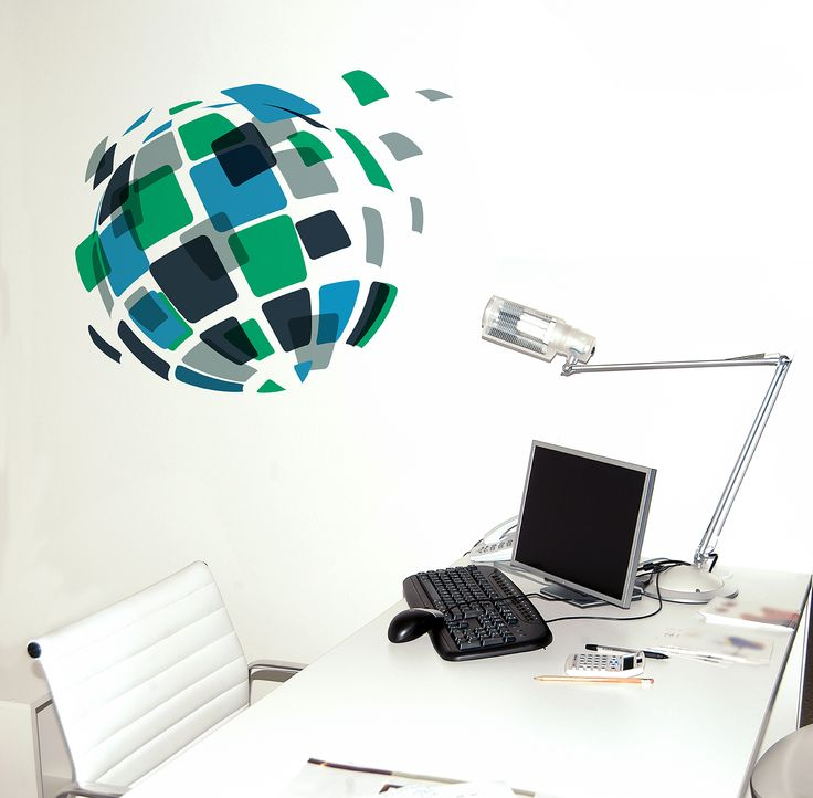 Unique Office Deco © Wall Decal // Deco Transfer For Office Decoration