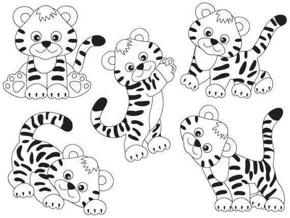 Pin By Amy Jackson On Coloring Pages In 2021 Clip Art Animal Clipart Cute Coloring Pages