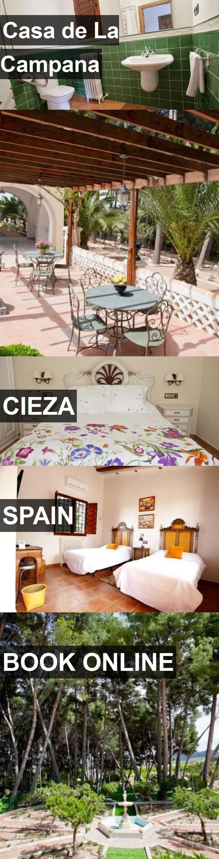 Hotel Casa de La Campana in Cieza, Spain. For more information, photos, reviews and best prices please follow the link. #Spain #Cieza #travel #vacation #hotel