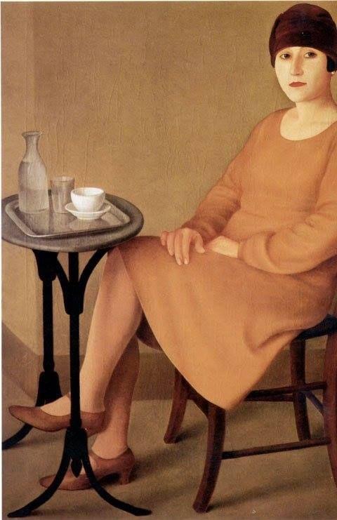 Cocottina. Antonio Donghi. 1927.