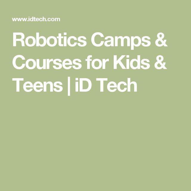 Robotics Camps & Courses for Kids & Teens   iD Tech