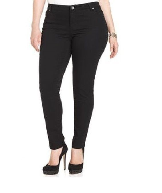 Style&co Pants Studded Skinny black women's Plus Sizes 14W, 20W, 22W NEW   26.99 http://www.ebay.com/itm/Style-co-Pants-Studded-Skinny-black-womens-Plus-Sizes-14W-16W-20W-22W-NEW-/231225850269?pt=US_CSA_WC_Pants&var=&hash=item7b811c3d1c