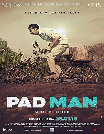 Padman 2018 Hindi Movie Free Download 720p DvDRip