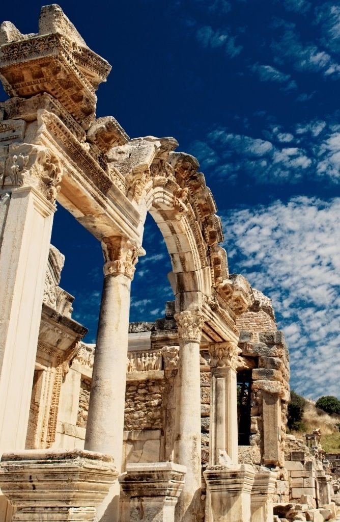 The ancient site of Ephesus, Turkey