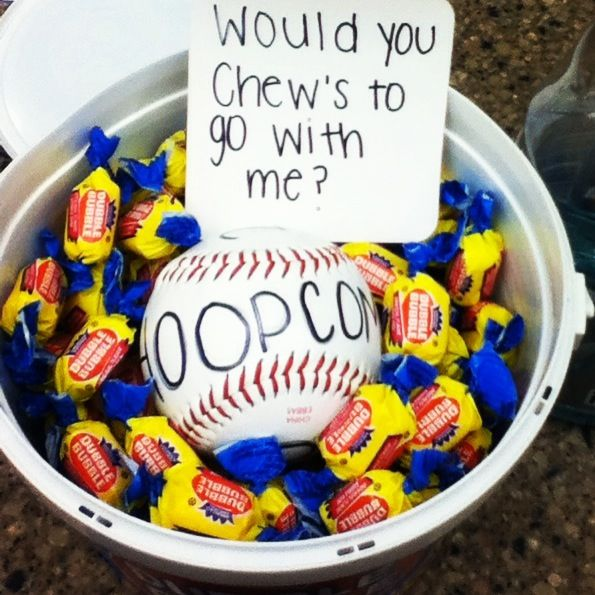 75 best prom proposal images on pinterest prom posals dance how i asked a baseball player to hoopcoming ccuart Images