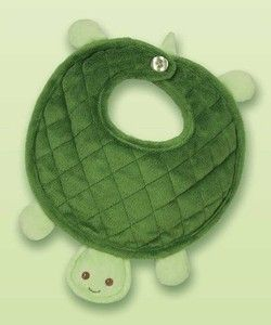 Turtle Baby Bib by Bearington More