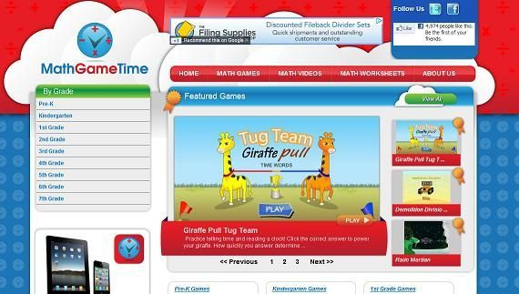 10 Best Online Games Sites for Homeschool Math from @Jimmie: