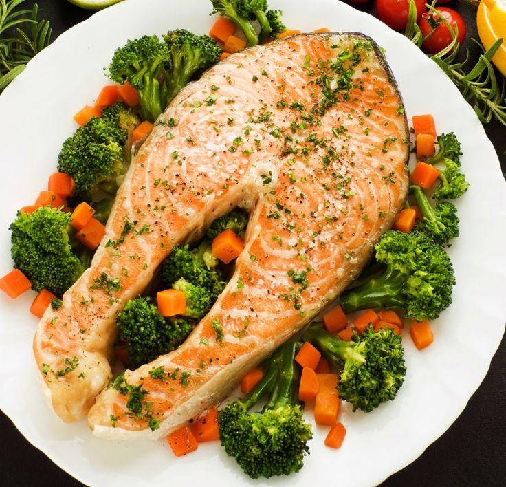 Somon cu broccoli - www.Foodstory.ro