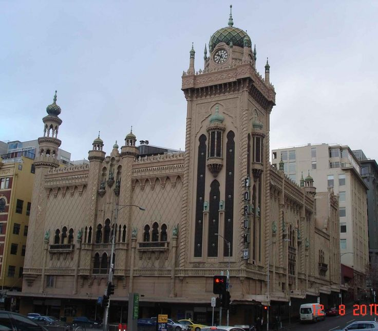The Moorish revival style of Melbourne's Forum Theatre (1929)