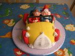 Noddy and Big Ears Birthday cake
