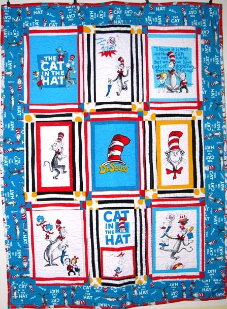 Cat in the Hat  quilt. 39 best Quilts   Cat in the Hat Quilts images on Pinterest   Dr
