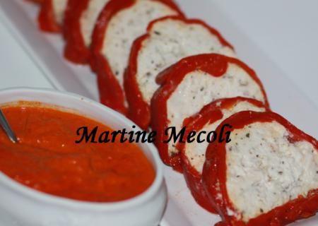 Recette de Terrine de lotte au basilic en habit rouge et sa sauce au vin rosé et poivron rouge sans cook'in | Guy Demarle