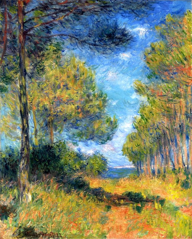 Path at Varengeville - 1882 - Claude Monet