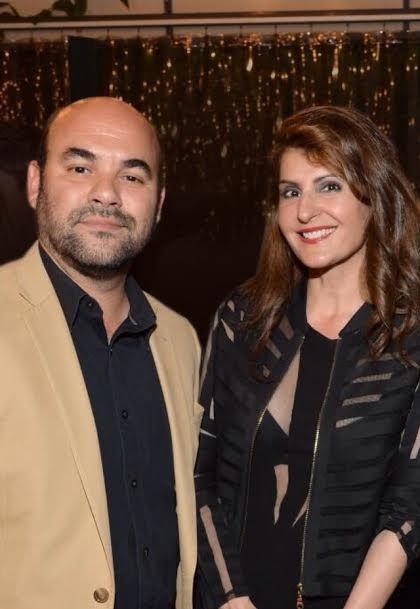 Ian Gomez and Nia Vardalos  - Adoption power couple