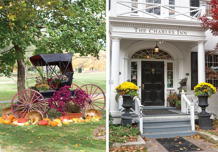 Explore Niagara-on-the-Lake: An 1832 manor-house-turned-hotel, The Charles Inn enjoys a prime downtown location and serves afternoon tea at its HobNob restaurant. #DiscoverOntario