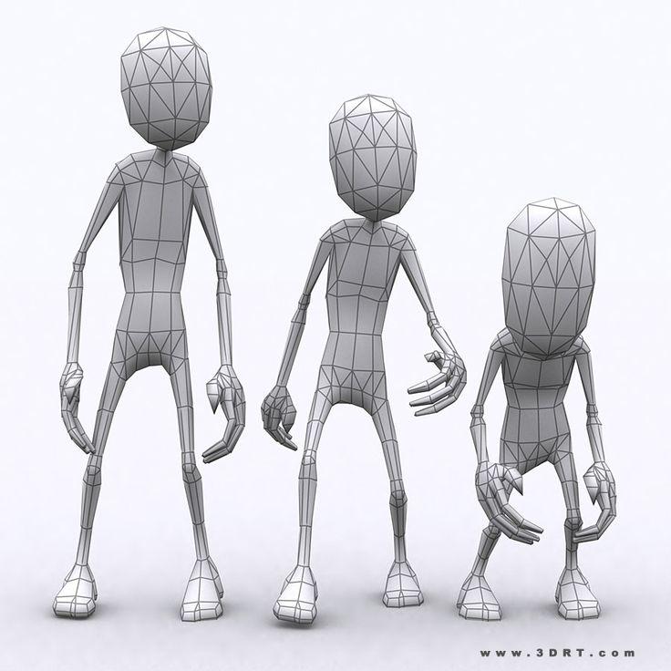 toon-spawns-monsters-3d-lowpoly-characters-generic-zombie-10.jpg (900×900)