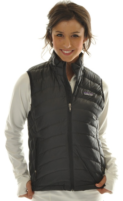 Patagonia Down Sweater Vest Black - Women's