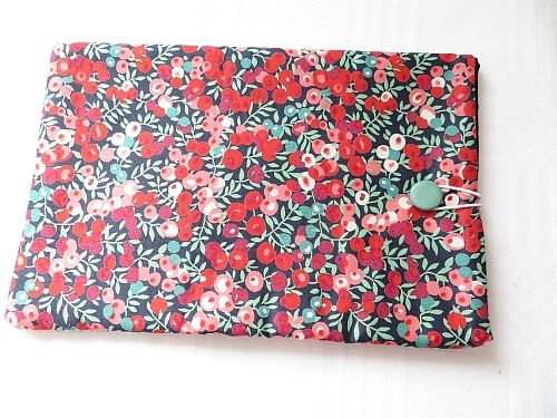 Liberty Wiltshire Tablet cover Handmade.