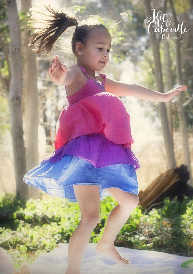 Dancing to her own music │Children Photography │ Kit & Caboodle Photography