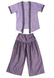Van Batik  Van Batik Kebaya Set Anak Srikandi Purple