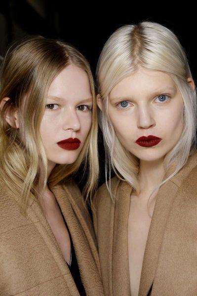 Make up Trend 2013-2014 Red Lips matt Cherry max_mara_Vogue.fr