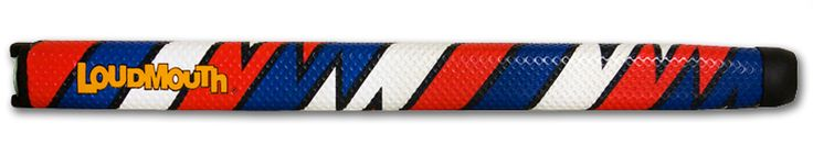 'Captain Thunderbolt USA' Standard Size. Purchase online at www.tourmarkgrips.com