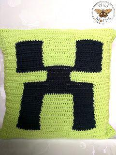 Wildmoths Handcrafted Creations: Minecraft Pillow