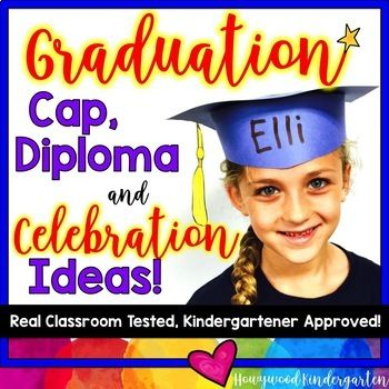 Are you a Kindergarten or Preschool teacher looking for simple ways to make the end of your student's school year extra special? I'm EXCITED to share all my insider-secrets for a super successful celebration- along with this great hat template and diploma- HERE!