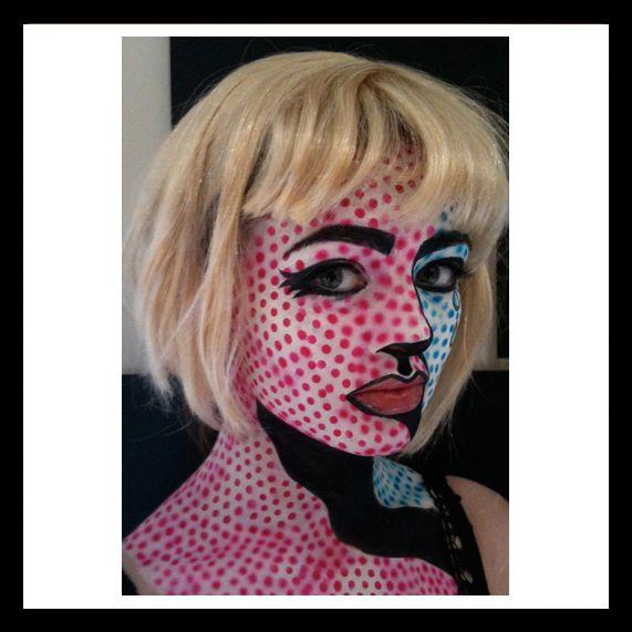 pop art halloween costume - Art Costumes Halloween