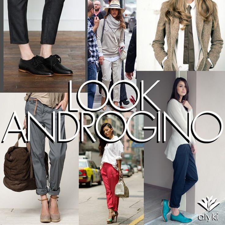 #Alyki Trend look androgino