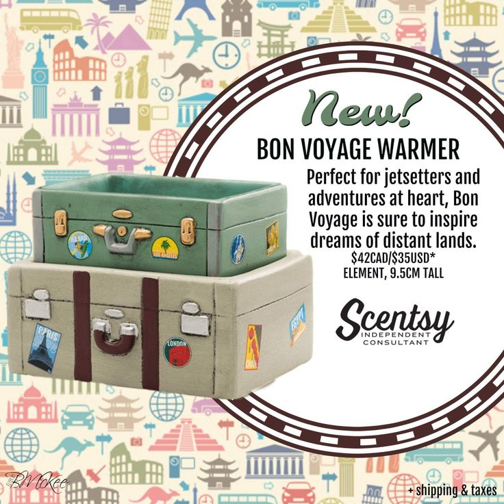 Traveling has never smelled so fabulous! Where would you like to go next? https://ashtaley.scentsy.ca/