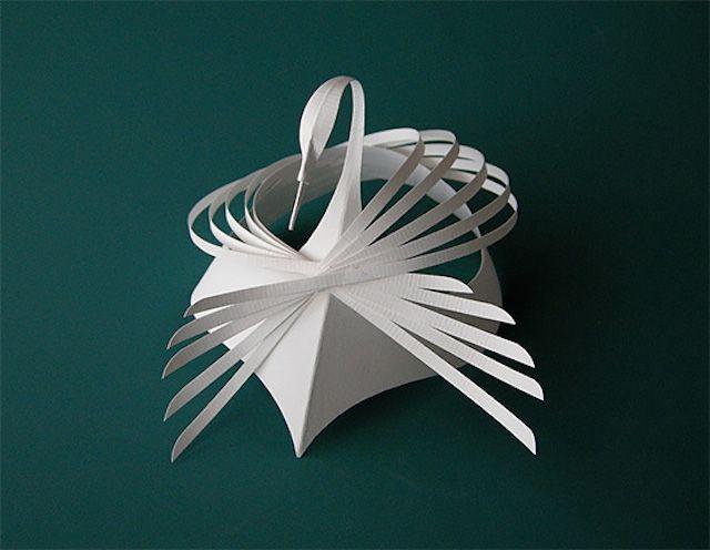 Paper Sculptures by Bijian Fan